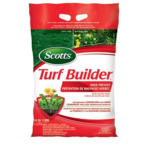 Scotts Turf Builder Weed Prevent Corn Gluten Meal 9.1kg/93m2