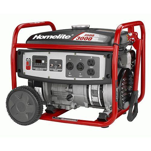 Homelite 3000 Watt Portable Generator
