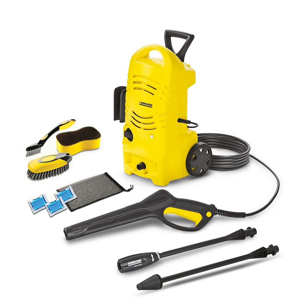 Karcher K2.27CCK CA 1600PSI Electric Pressure Washer with Dirtblaster wand & Car Care Kit