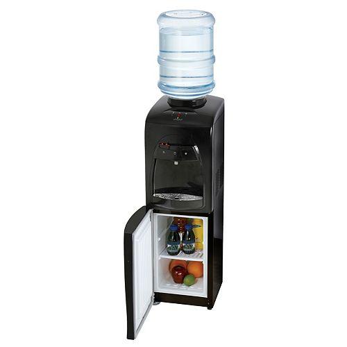 Distributeur d'eau à chargement par le haut avec compartiment réfrigéré