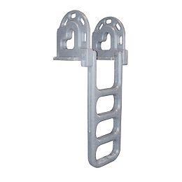 """Roto-Molded Dock Ladder, 4-Step Flip"""