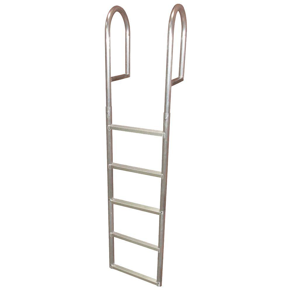 """Dock Edge """"Aluminum Dock Ladder, 5-Step"""""""