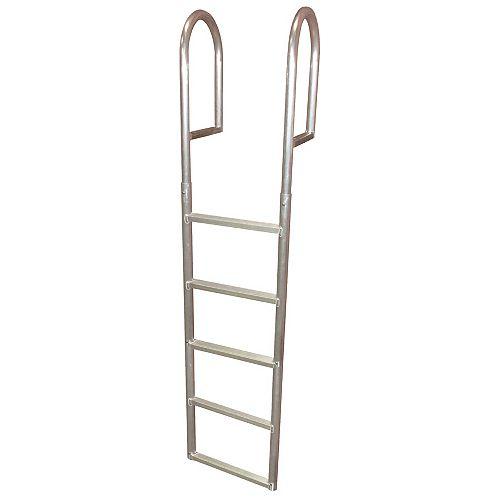 """Aluminum Dock Ladder, 5-Step"""