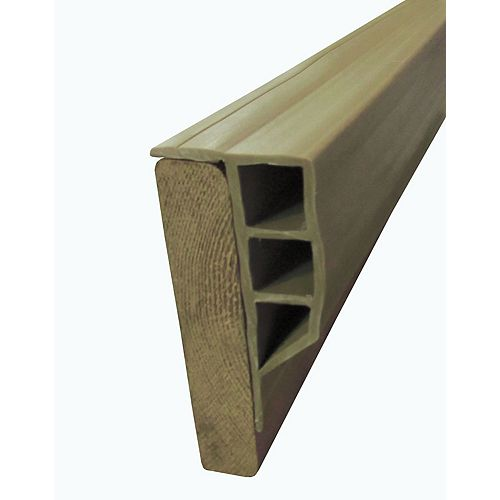 "Dock Edge ""Full Face Profile, Beige, 24ft/crt"""