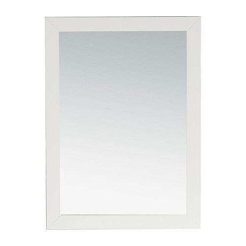 Miroir décoratif Chelsea, blanc