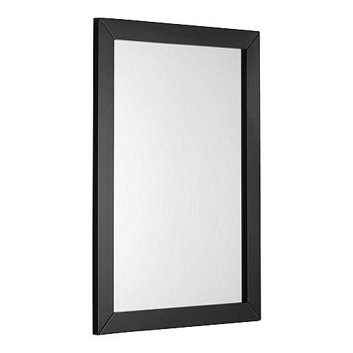 Miroir décoratif Chelsea, noir