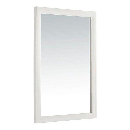Miroir décoratif Urban Loft pour meuble-lavabo, blanc