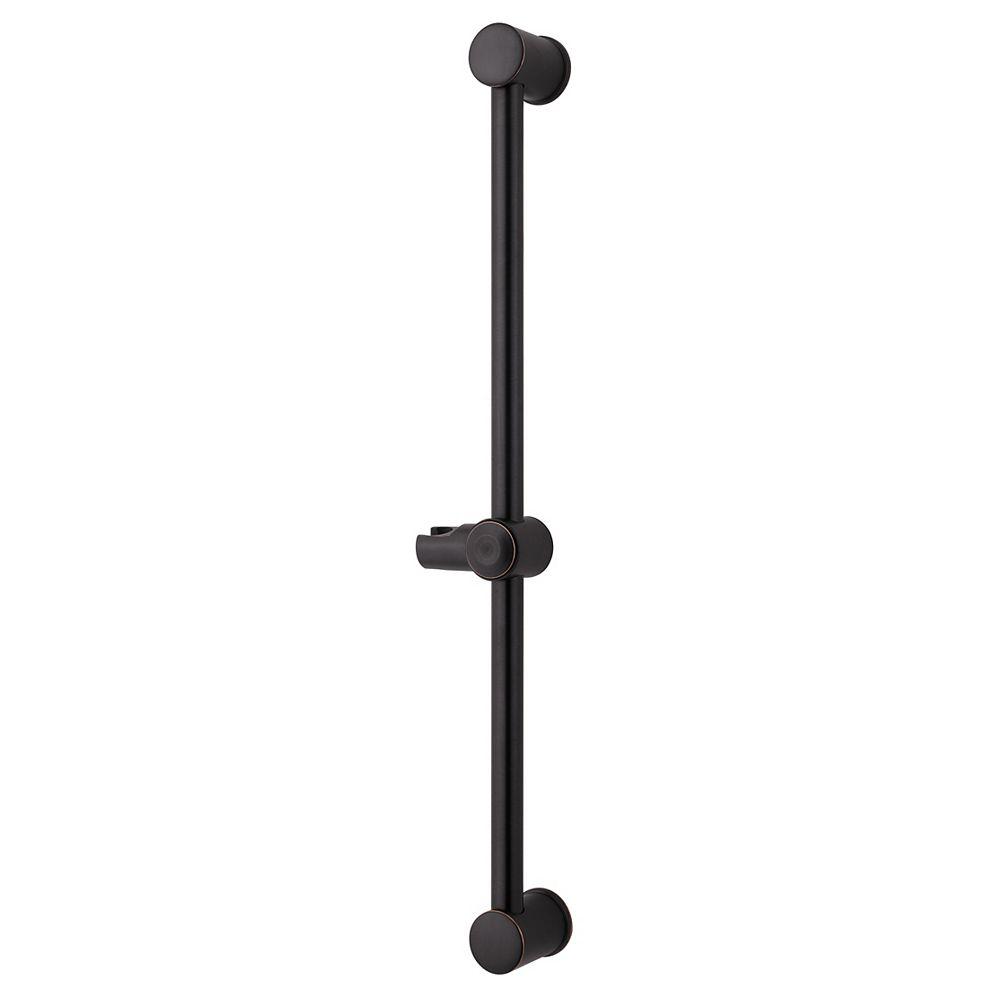 Pfister 16-Series Adjustable Shower Slide Bar in Tuscan Bronze