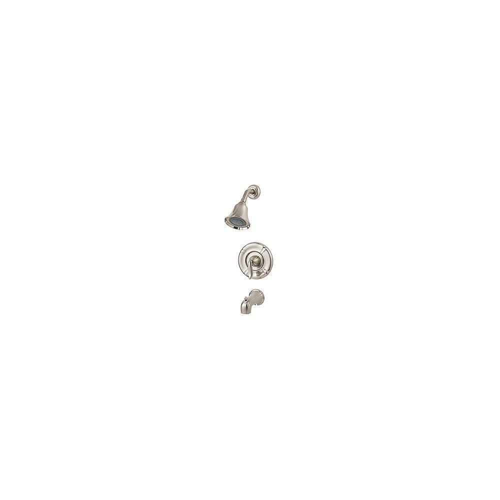 Pfister Santiago Single-Handle Bath/Shower Faucet in Brushed Nickel