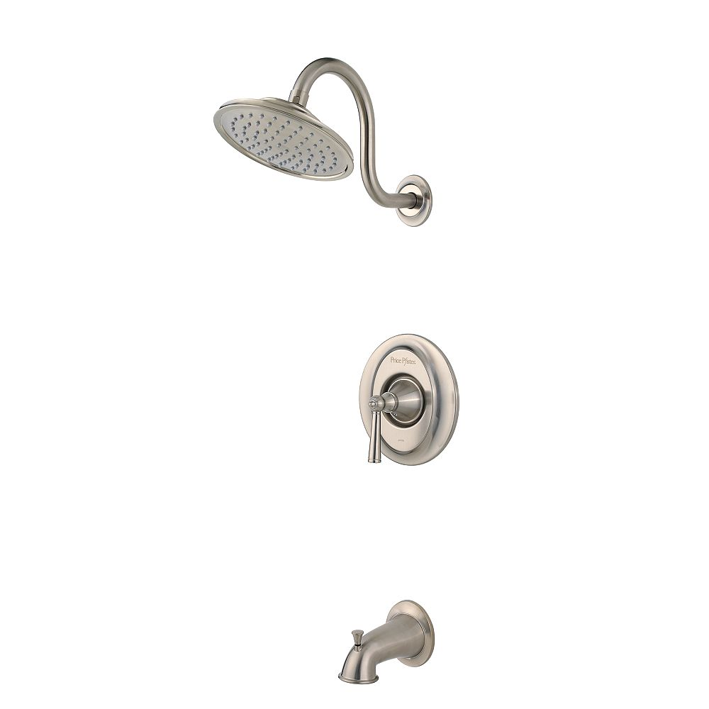 Pfister Saxton Single-Handle Bath/Shower Faucet in Brushed Nickel