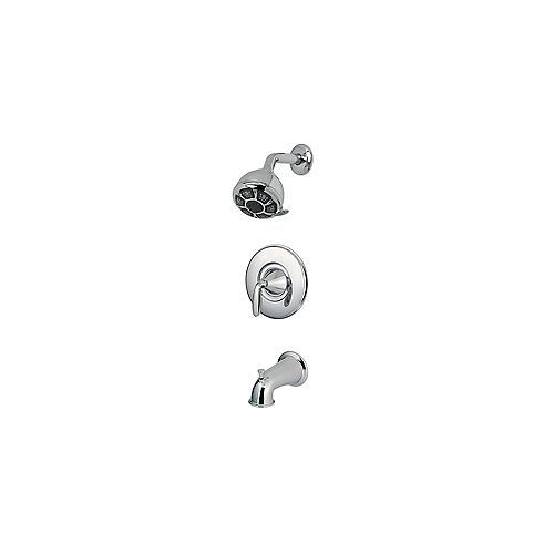Pfister Pasadena 4-Spray Wall-Mount Tub  Shower Faucet in Chrome