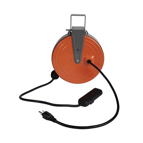 16/3 30'3 outlet retractable reel