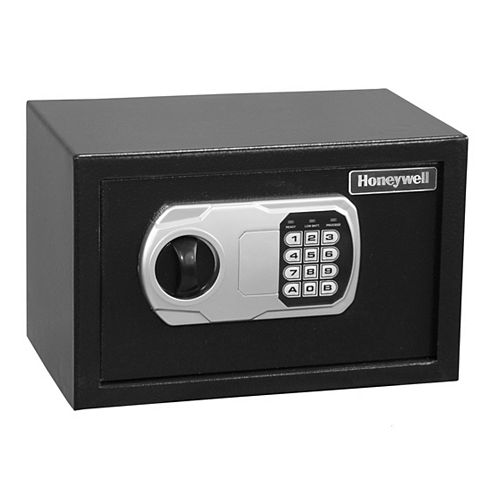 Steel Security Safe with Digital Lock, 0.35 cu.ft.
