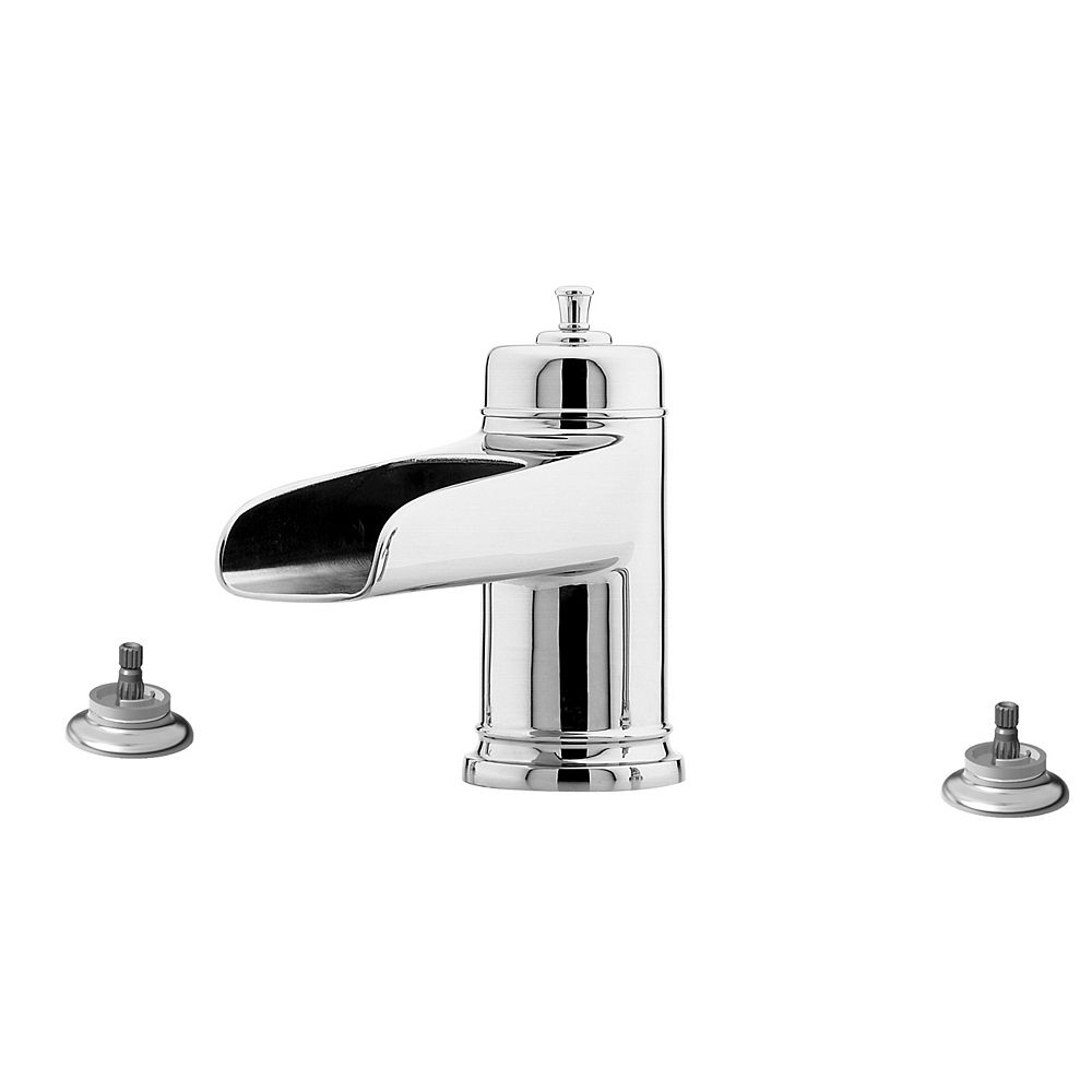 Pfister Ashfield 2-Handle Roman Tub Trim with Waterfall Spout in Polished Chrome