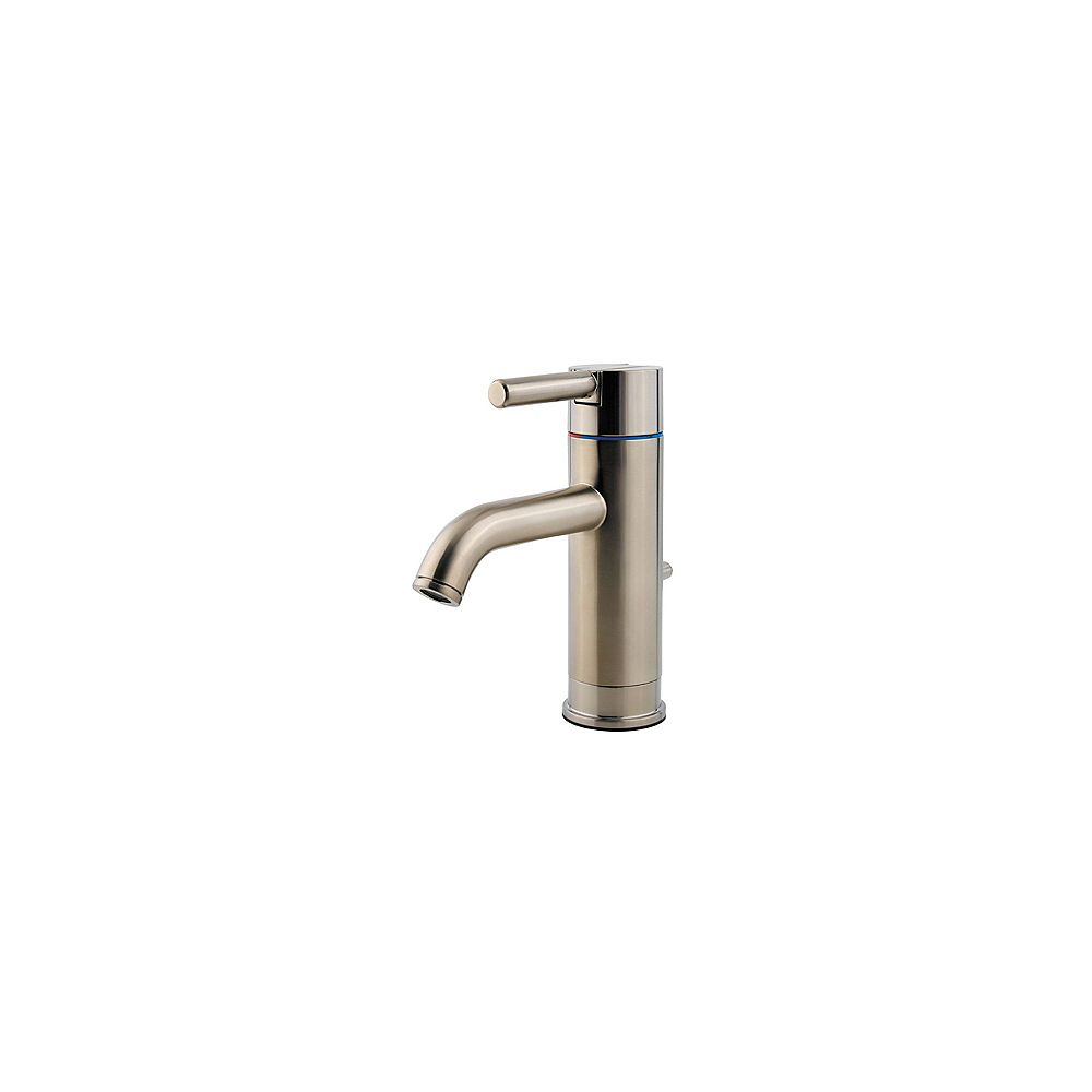 Pfister Contempra 4-inch Centreset Single-Handle Bathroom Faucet in Brushed Nickel Finish