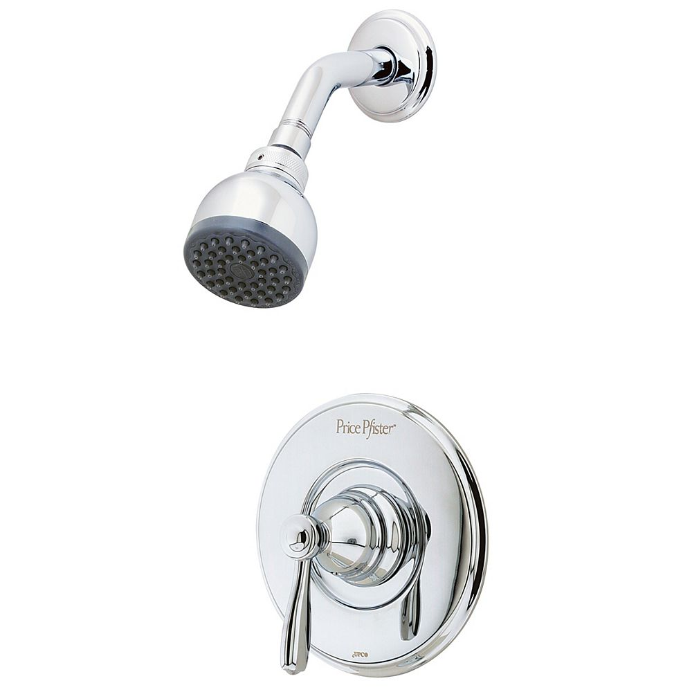 Pfister Portland Single-Handle Shower Faucet in Polished Chrome