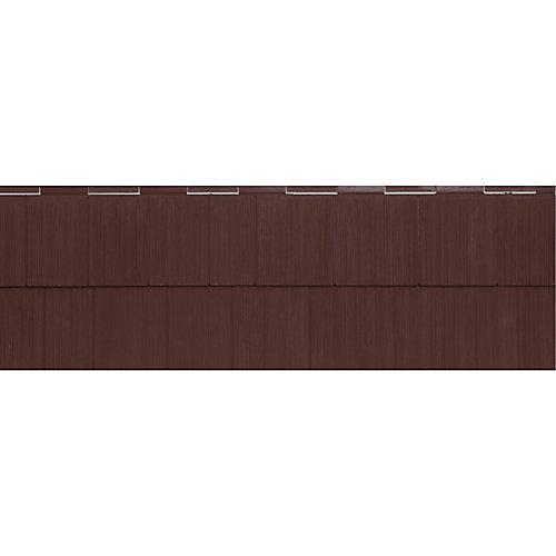 Bardeau architectural Timbercrest Perfections, 4 pi 4,25 po, vinyle, rouge brique, 11/paq.