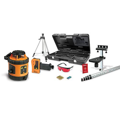 Self-Leveling Rotary Laser Level Kit