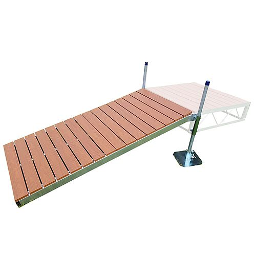 4 ft. x 8 ft. Shore Ramp Kit with Aluminum Deck