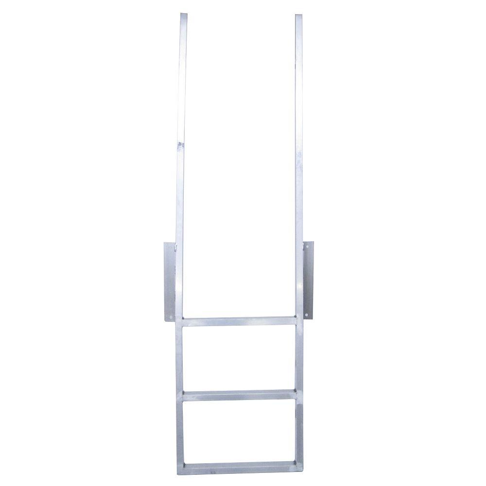 Patriot Docks 3-Step Aluminum Dock Ladder