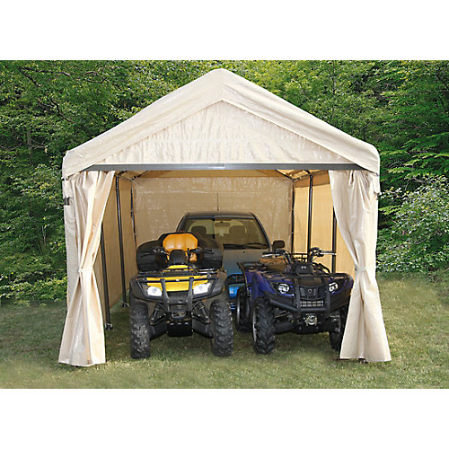 12 ft. x 20 ft. Canopy with Zippered Door
