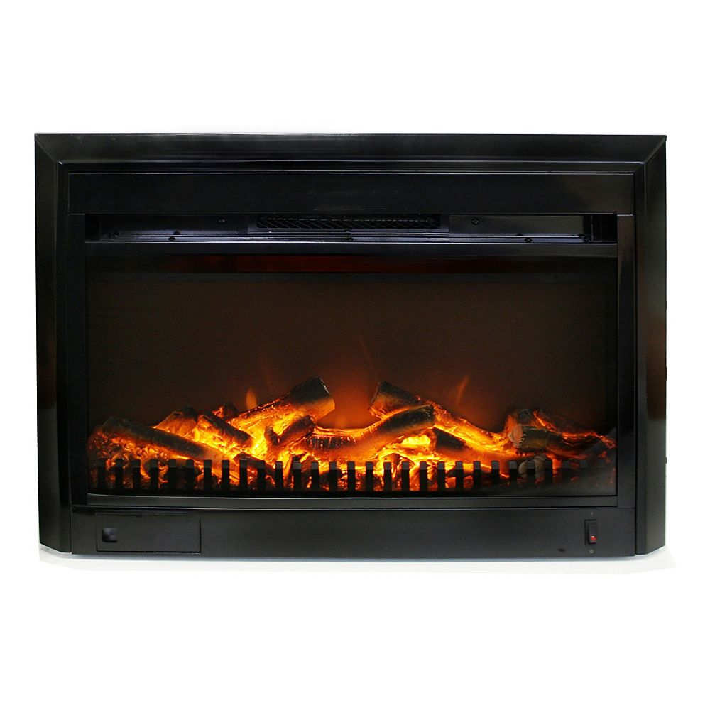 Paramount 25-inch x 18-inch Electric Fireplace Insert with Gentle-Touch Controls