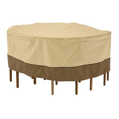 Veranda Patio Table & Chair Set Cover - Round, Large