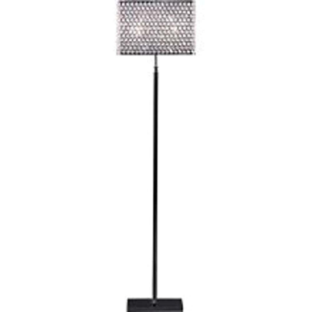Filament Design Apollo 63 in. Chrome Incandescent Floor Lamp