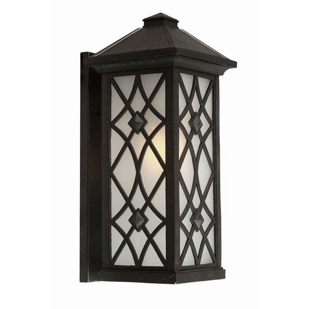 Filament Design Apollo 1 Wall-Light Black Outdoor Incandescent - CLI-ACG826143