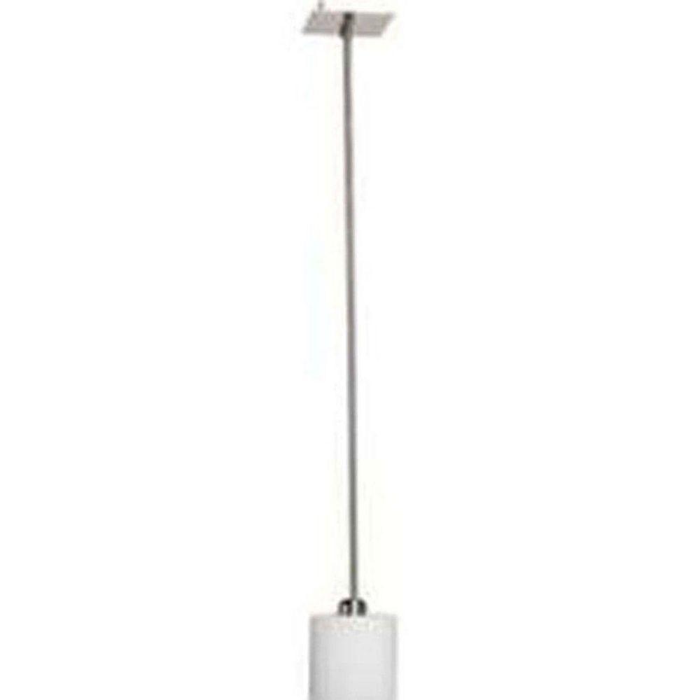 Filament Design 1 Light Ceiling Brushed Nickel Incandescent Pendant