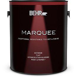 Exterior Matte Paint & Primer - Ultra Pure White, 3.79L