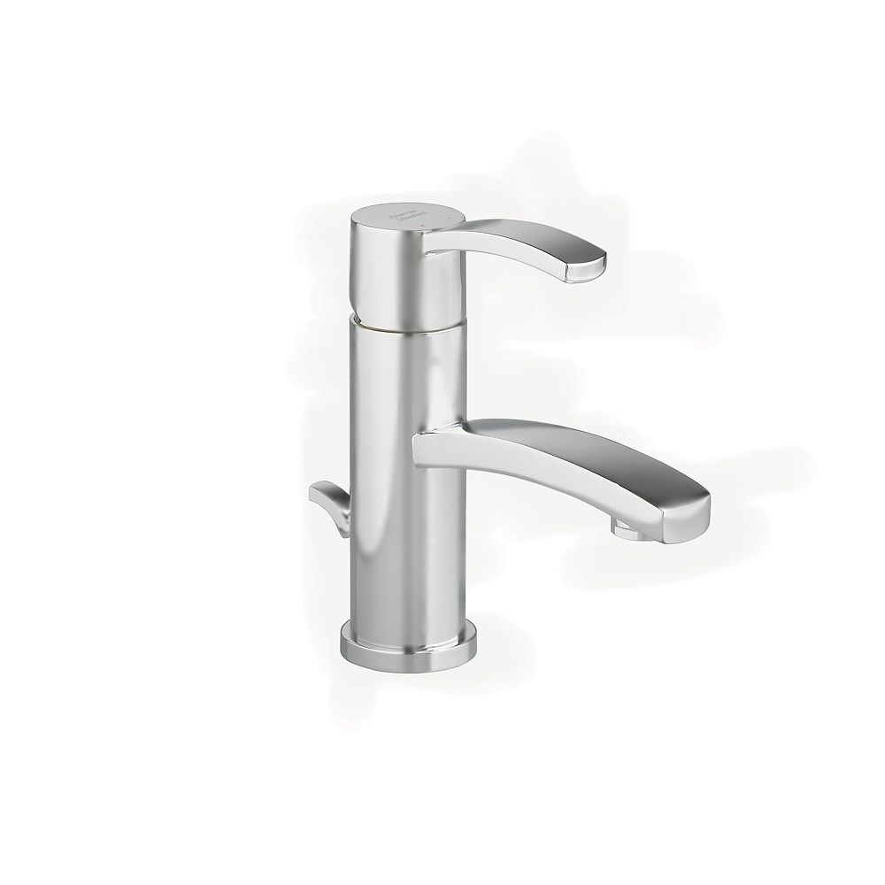 American Standard Berwick Monoblock Single-Handle Bathroom Faucet with Speed Connect Drain in Satin Nickel Finish