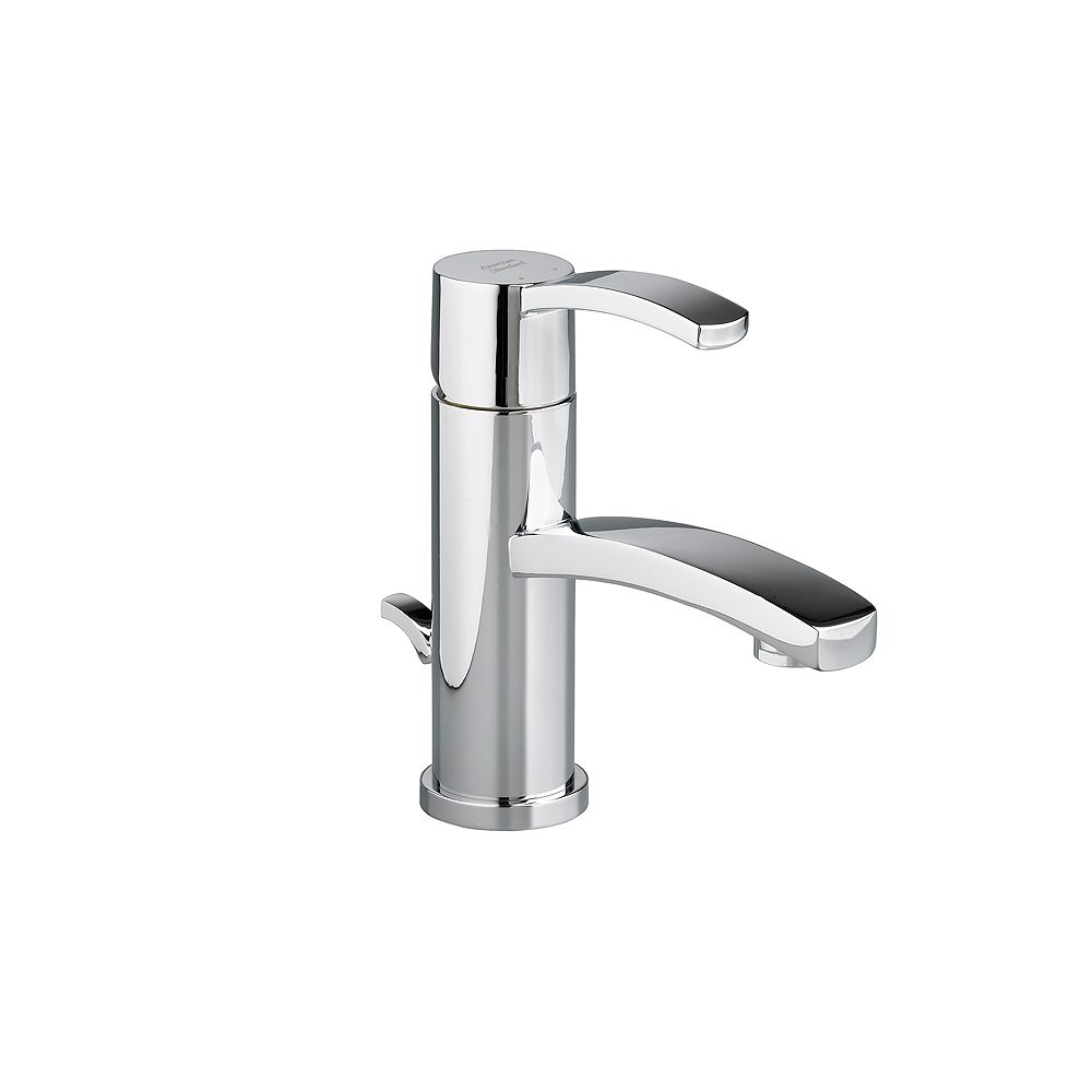 American Standard Berwick Monoblock Single-Handle Bathroom Faucet with Speed Connect Drain in Polished Chrome Finish