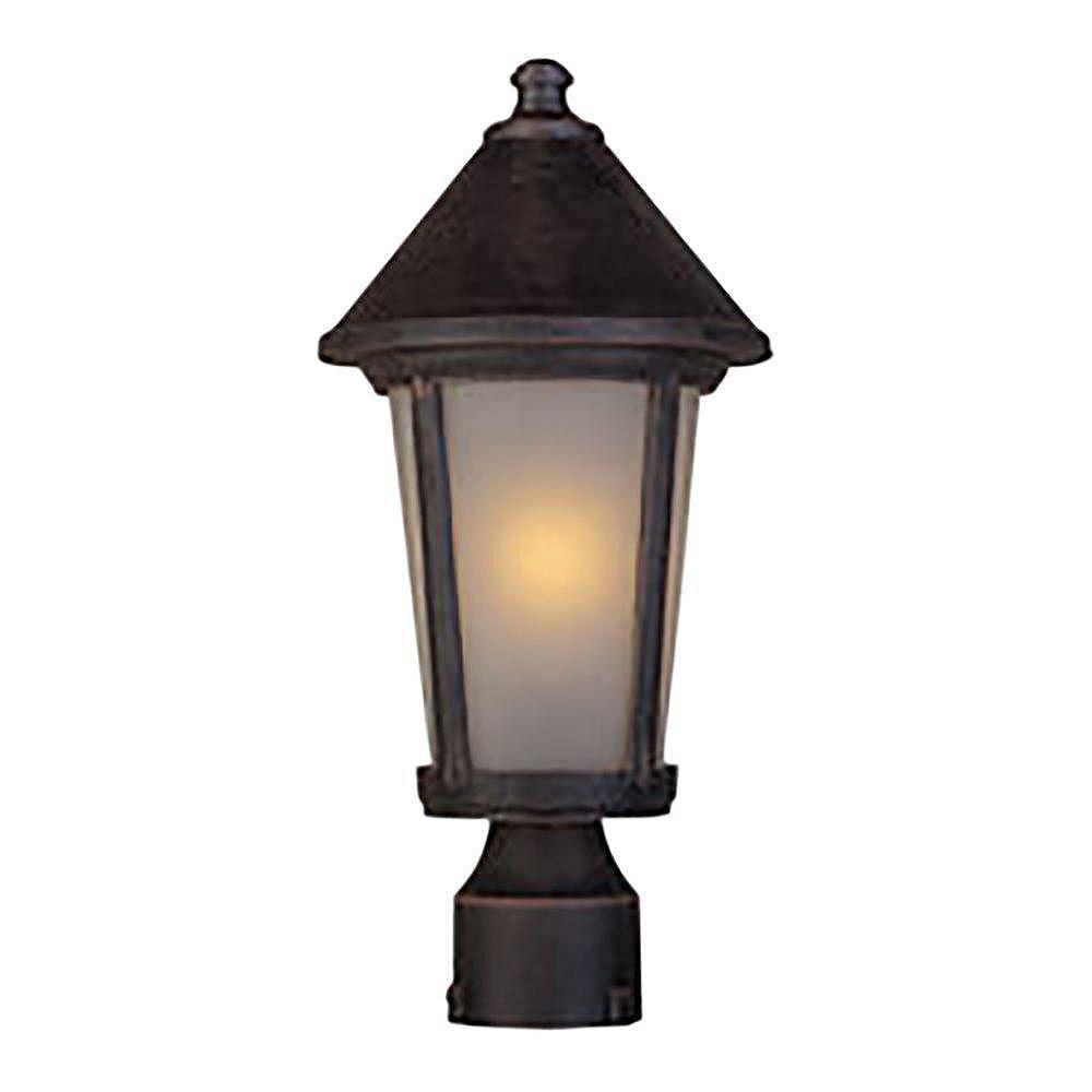 Filament Design Apollo 1 Light Rust Outdoor Incandescent Wall Light