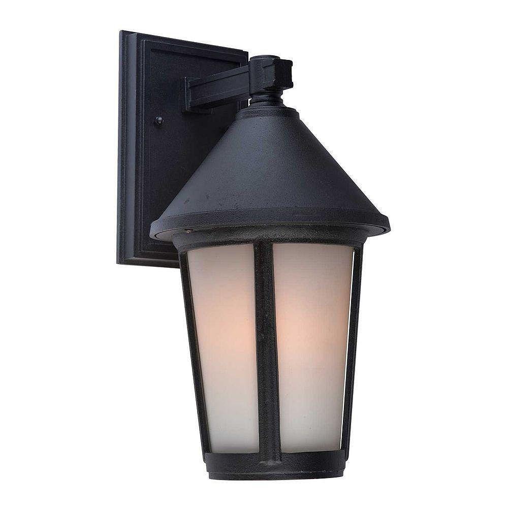 Filament Design Apollo 1 Wall-Light Black Outdoor Incandescent - CLI-ACG821049