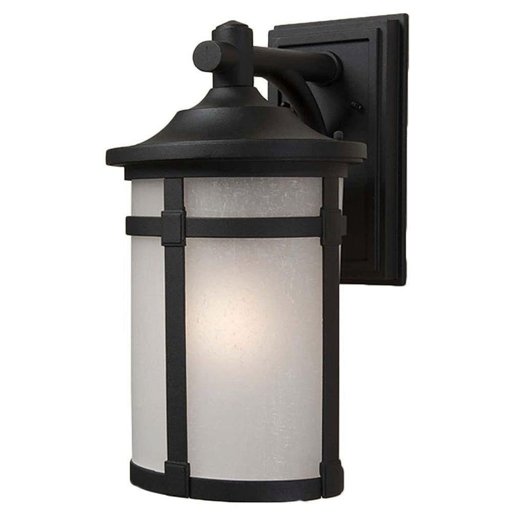 Filament Design Apollo 1 Wall-Light Black Outdoor Incandescent - CLI-ACG863148