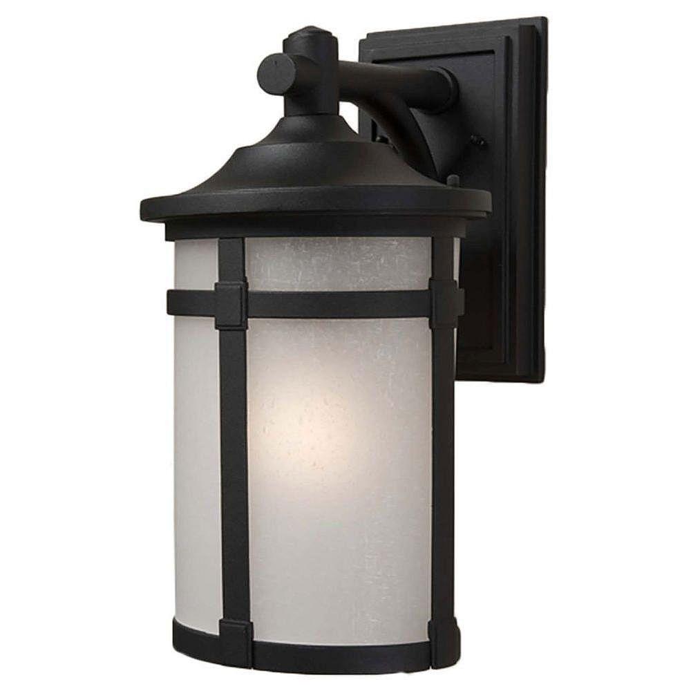 Filament Design Apollo 1 Wall-Light Black Outdoor Incandescent - CLI-ACG864145