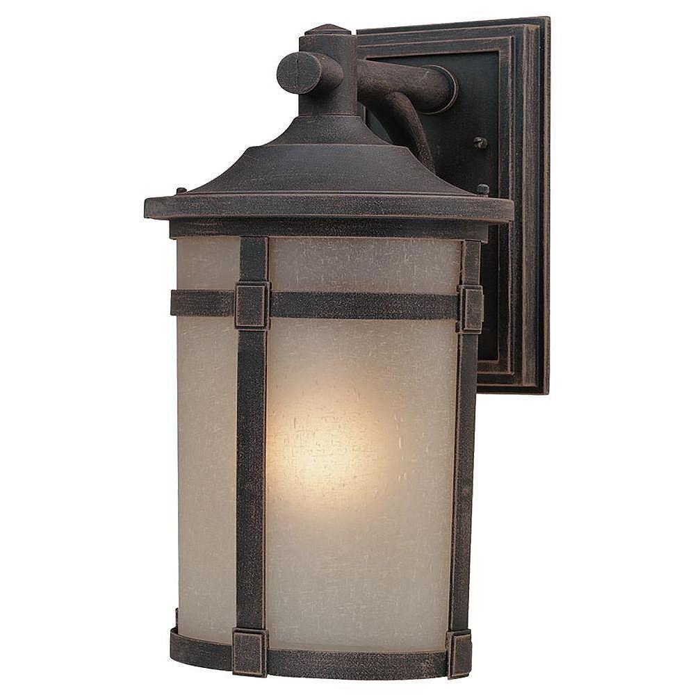 Filament Design Apollo 1 Light Bronze Outdoor Incandescent Wall Light