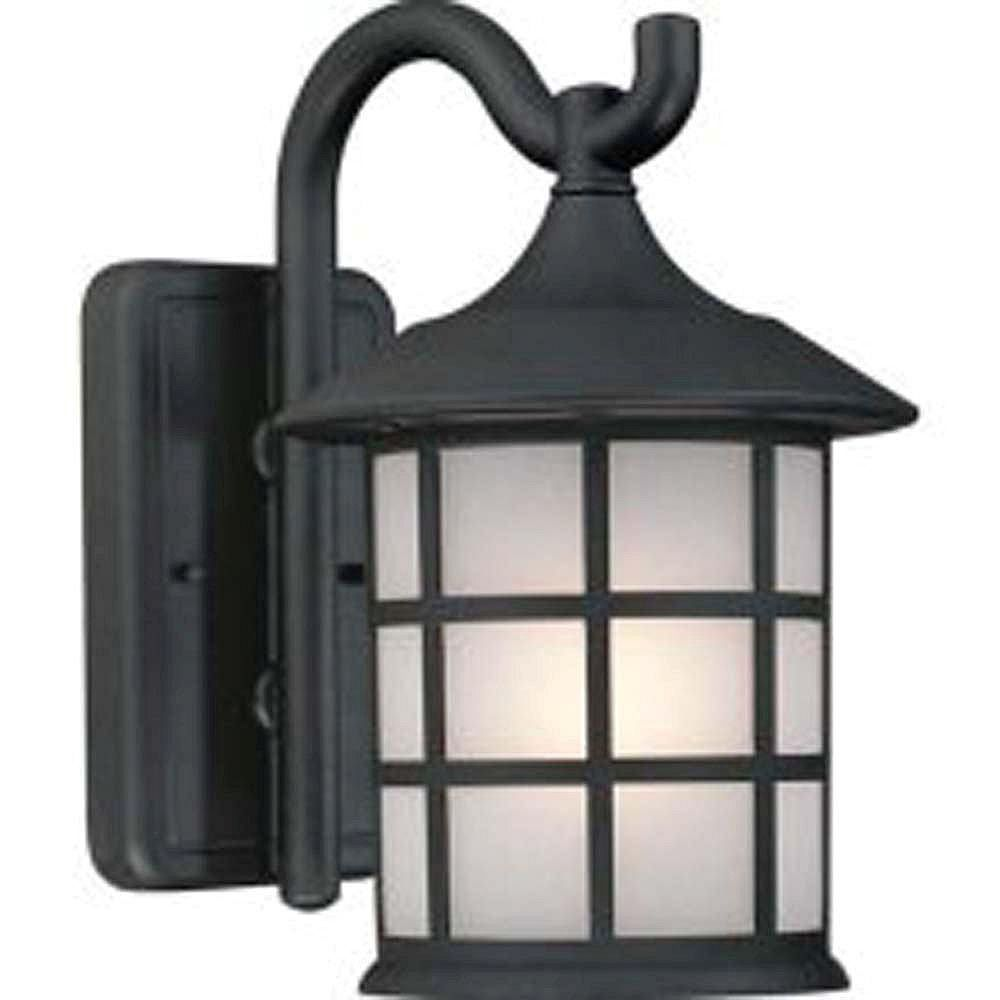 Filament Design Apollo 1 Wall-Light Black Outdoor Incandescent - CLI-ACG866149