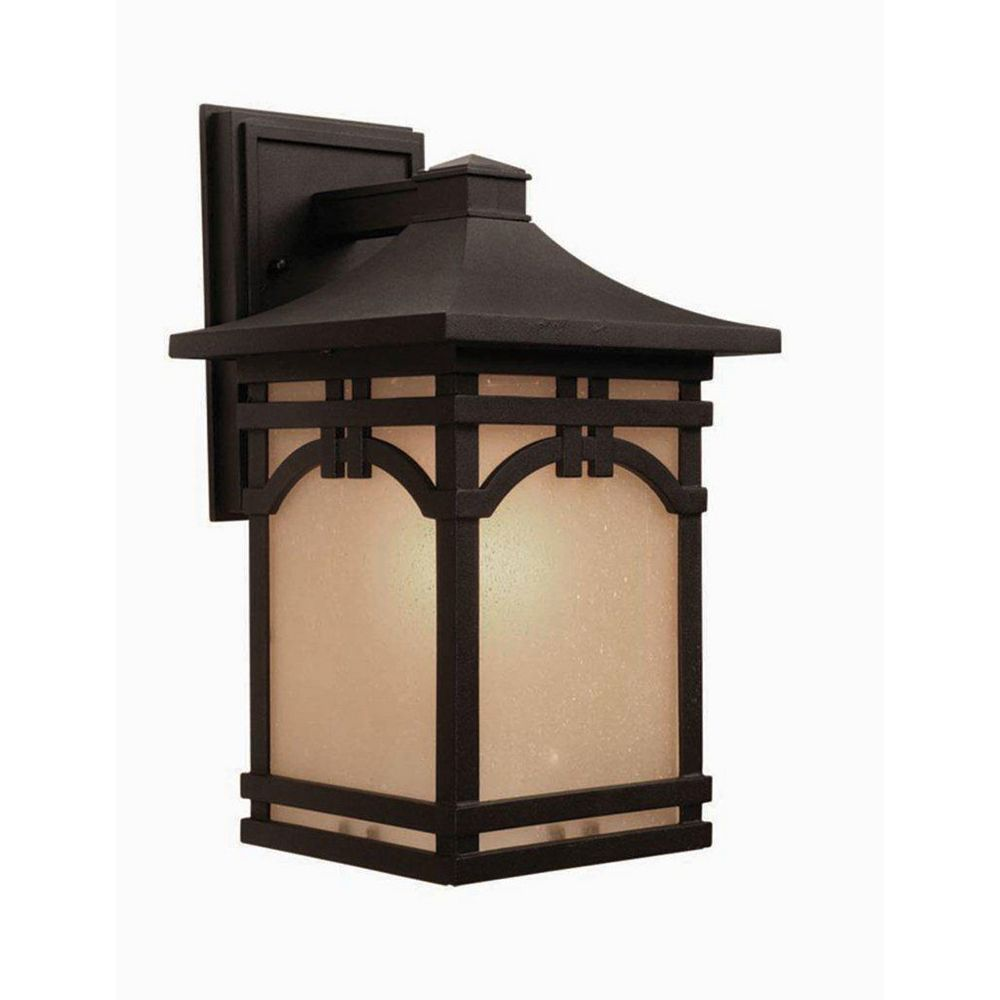 Filament Design Apollo 1 Wall-Light Black Outdoor Incandescent - CLI-ACG806145
