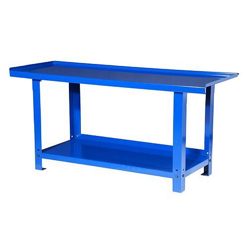 72-inch Heavy Duty Steel Workbench