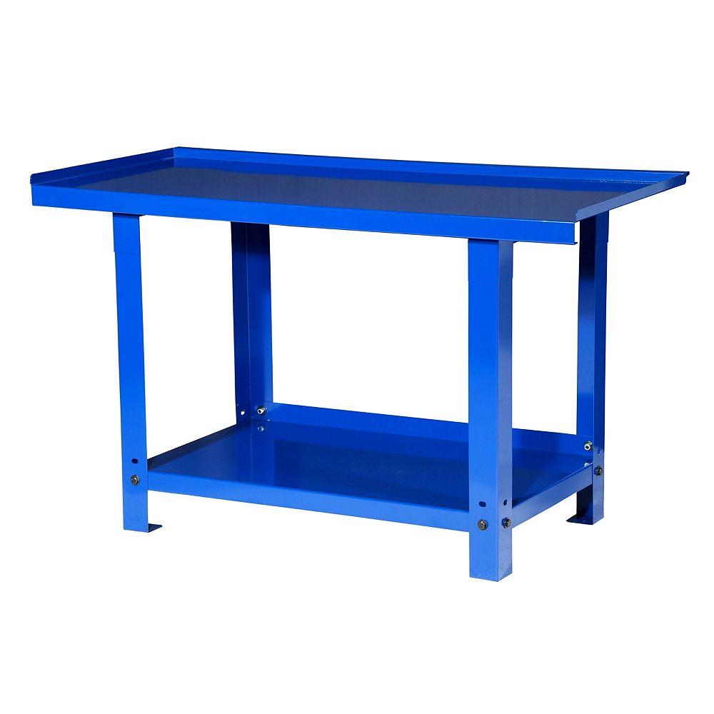 International 57-inch Heavy Duty Steel Workbench