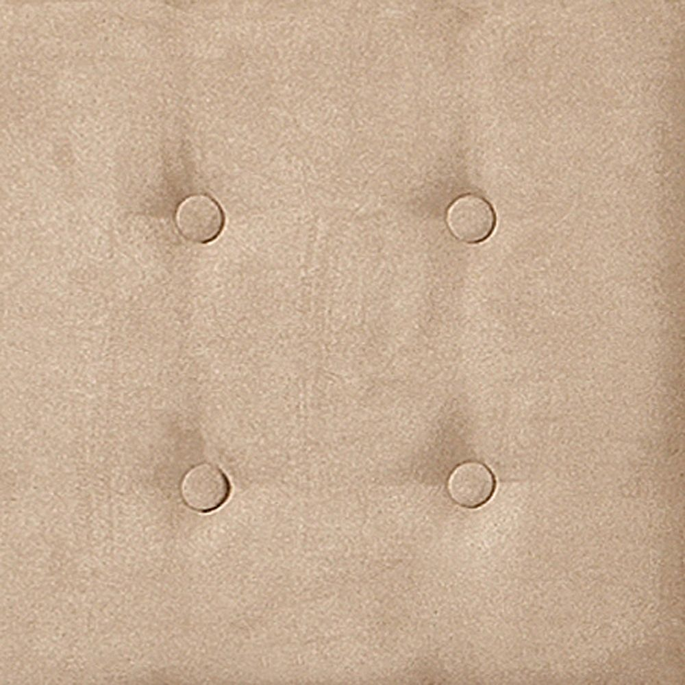 nexxt Luxe Set of 8 Upholstered Wall Panels 18 Inch X 18 Inch Microsuede Taupe