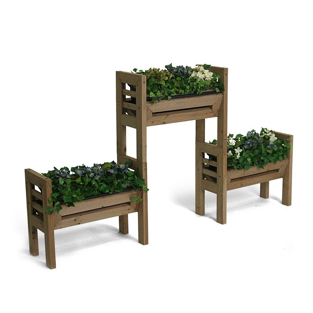 Algreen Products Stack'n Garden Modular Indoor/Outdoor Garden System