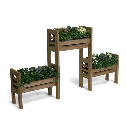 Stack'n Garden Système de jardin modulaire intérieur/extérieur