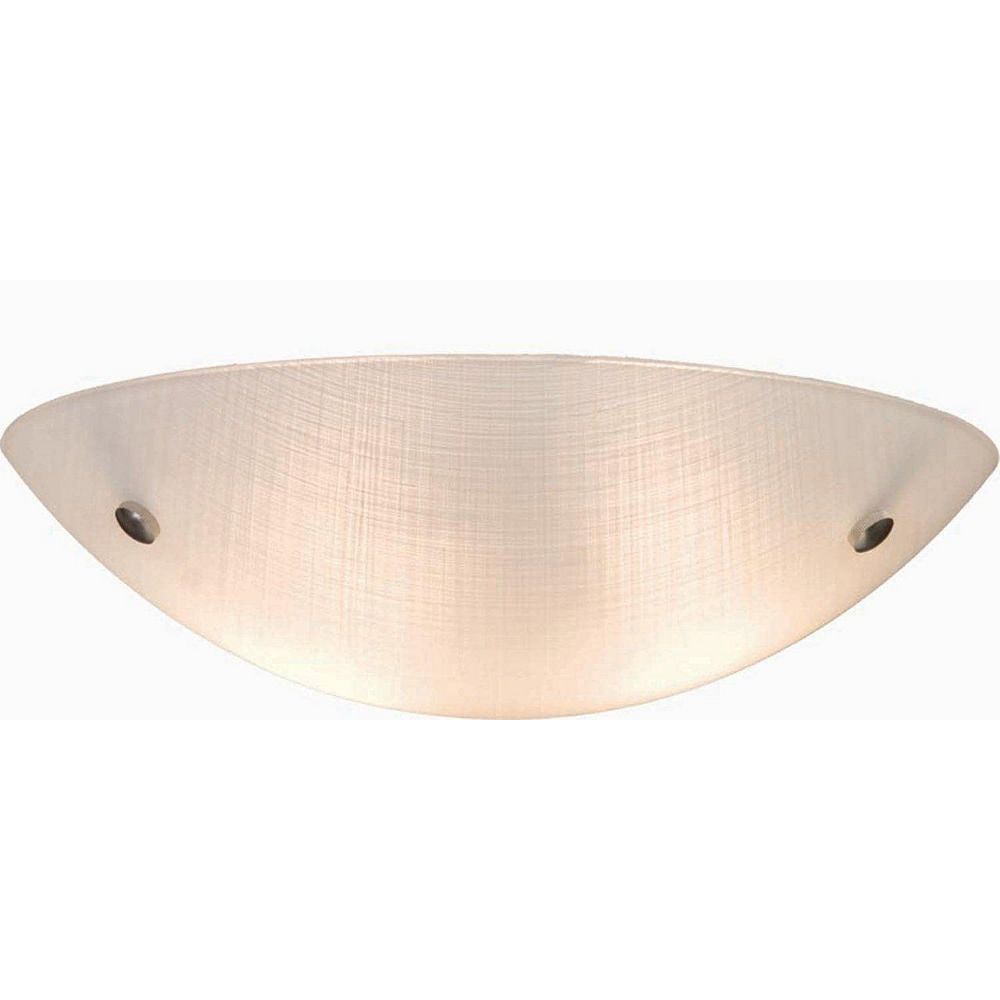 Filament Design 3 Light Ceiling Chrome Fluorescent Flush Mount