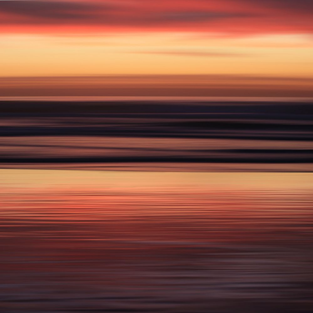 nexxt Shutter Canvas Wall Art, Natural Light Image Morningsunrise 40X40X1.25 Inch