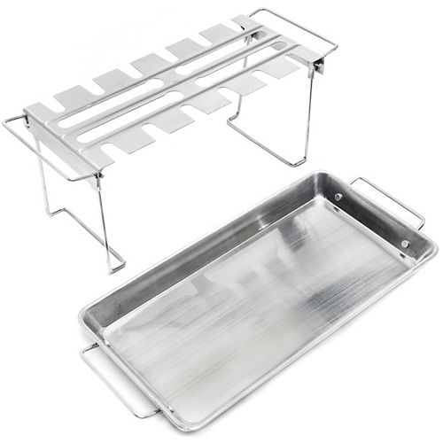 Stainless Wing Rack