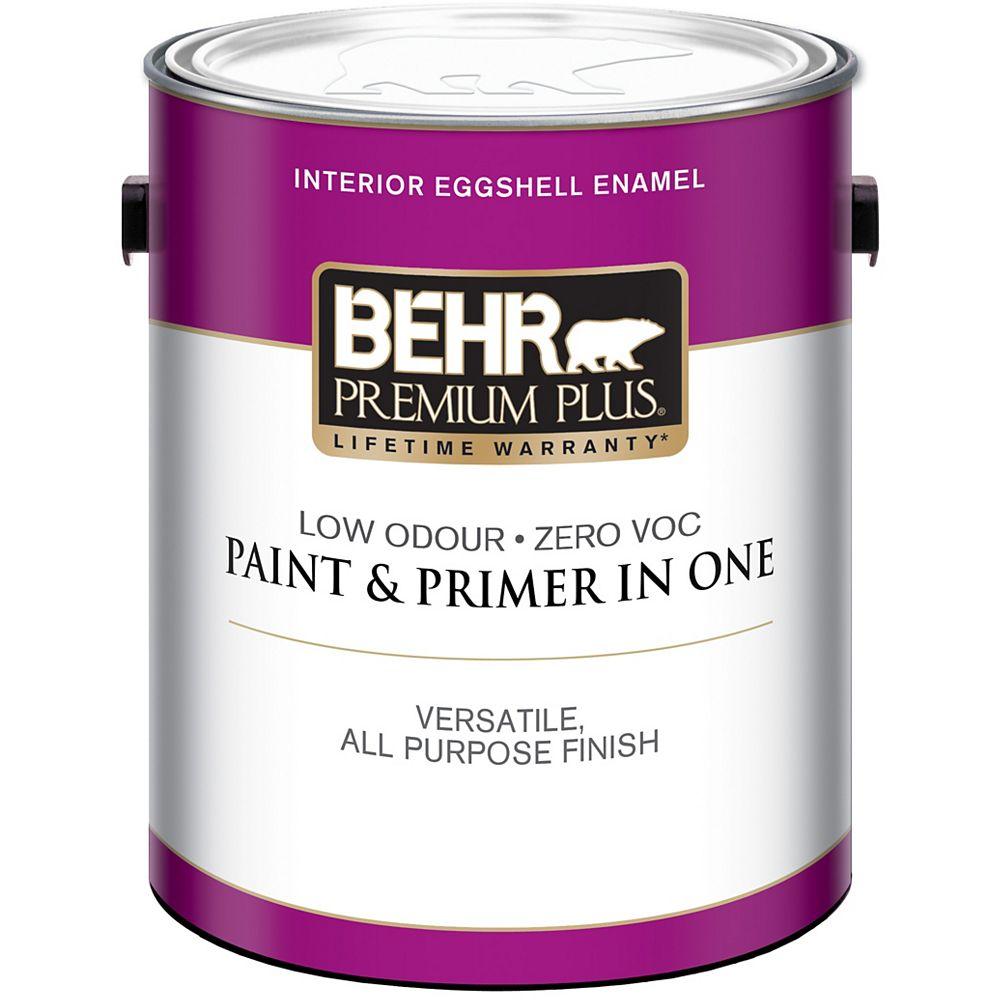 Behr Premium Plus Interior Eggshell Enamel Paint - Medium Base, 3.54 L