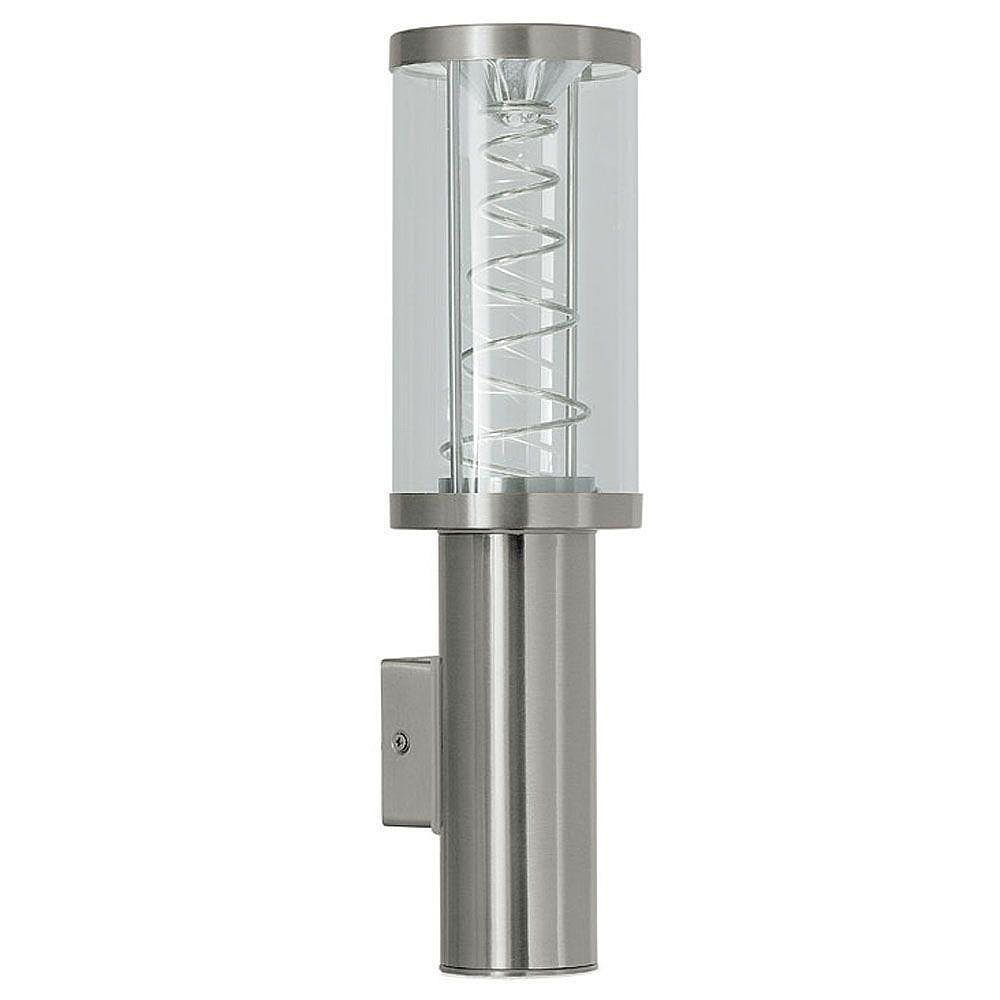 Eglo ALDAN Wall Light 1L, Stainless Steel  Finish, Frosted Glass